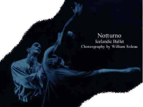 Notturno by William Soleau - Icelandic Ballet